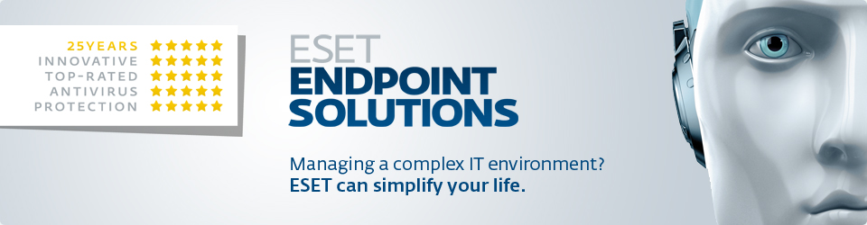 ESET Endpoint Solutions Banner